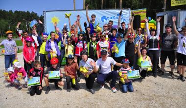 Итоги второй велогонки сезона в Юго-Западном лесопарке