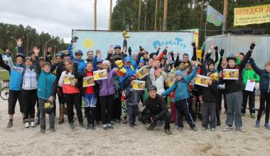 Результаты третьих соревнований по маунтинбайку в Юго-западном лесопарке