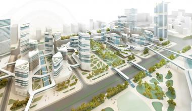 Проект бизнес-квартала на Архиконкурсе