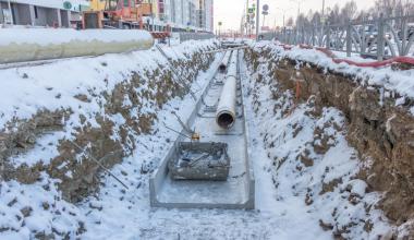 Укладка теплотрассы для ЖК «Рябиновый» завершится в декабре