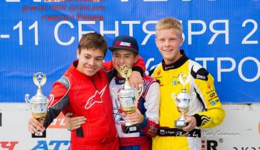 Два брата из Академического заняли призовые места на Чемпионате России по картингу