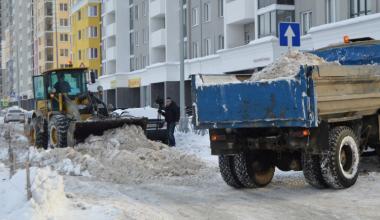 В пятницу почистят дублёр улицы Павла Шаманова в пятом квартале