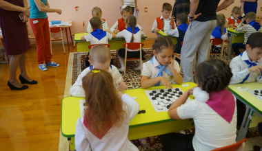 Команды детских садов выступят на итоговом турнире по шашкам