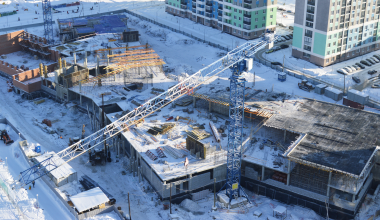 Ход строительства второй очереди школы № 23