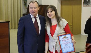 Жительница Академического стала лауреатом губернаторской премии
