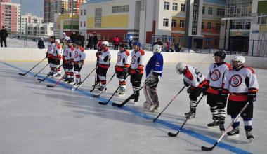 Турнир по хоккею ко Дню защитника Отечества завершился в пользу гостей