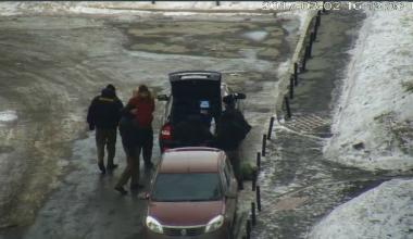 В Академическом задержали похитителей пожарных рукавов