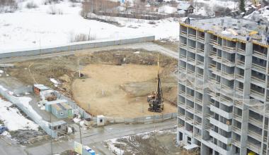 Началось строительство второго дома «Рябинового» квартала