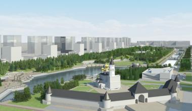 В Преображенском парке появится свой Кремль