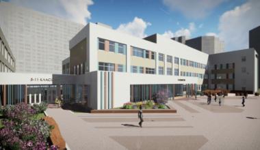Новый корпус школы № 181 будет рассчитан на учеников младших классов
