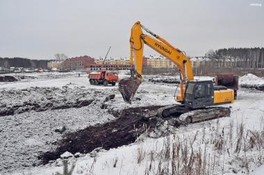 Начало строительства 29 квартала