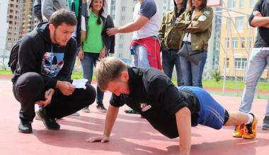 В Академическом отметят День физкультурника