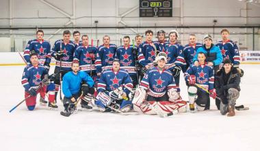 ХК «Звезда» приглашает болельщиков поддержать их на хоккейных соревнованиях в Шабровском