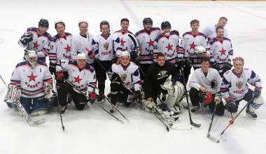 Хоккейная команда «Звезда» из Академического вышла в полуфинал Арамильской лиги
