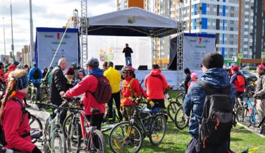 В «Майской велопрогулке» со стартом из Академического приняли участие более 6 тысяч человек