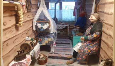Машина времени: в детском саду № 119 появилась старинная русская изба