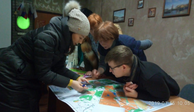 Представители Минприроды встретились с защитниками Берёзовой рощи