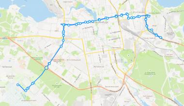 Академическому разработали прямой маршрут в центр и маршрут через «Патру» и Вторчермет на Уктус