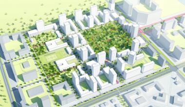Атомстройкомплекс передаст городу землю в 7 квартале под строительство двух школ и двух садиков