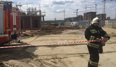 На месте будущей школы в 26 квартале нашли два снаряда