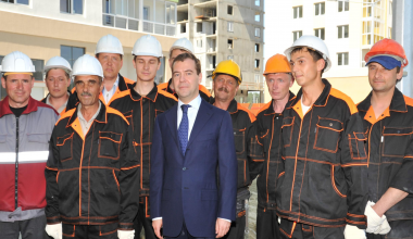 #Академический10лет: Визит Президента Дмитрия Медведева в 2009 году