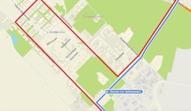 Автобусный маршрут № 50 запустили через Академический