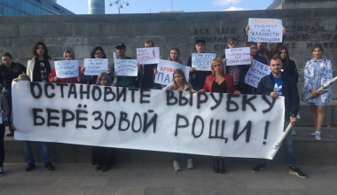 Защитники Берёзовой рощи обратились в полпредство УрФО