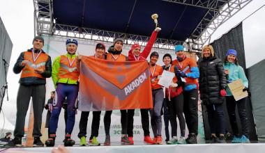 Бегуны команды «Akadem» заняли призовые места в городской эстафете «Вечерний Екатеринбург»