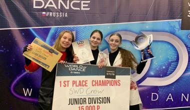 Ученицы школы № 16 победили в танцевальном чемпионате «World of Dance»