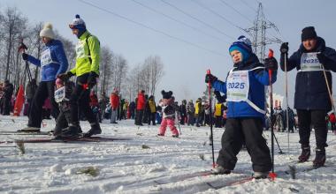 В выходные в Академическом пройдёт «Лыжня России 2020»