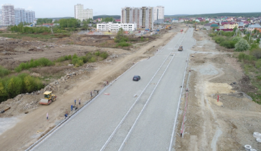Перекрёсток улиц Соболева и Тенистой перекроют для строительства улицы Краснолесья