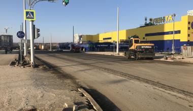 Дорогу по улице Рябинина от Сахарова до Патрушихи открыли