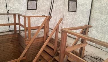 В Академическом готовят купель для Крещенских купаний