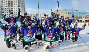 Ледовая дружина «Юность-Академический» победила на домашнем льду