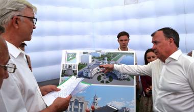 Здание администрации восьмого района начнут строить в 2021 году