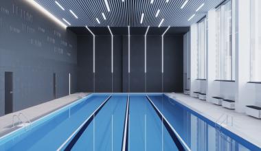 В стиле минимализм с бассейном. Каким будет фитнес-клуб премиум-класса в Академическом?