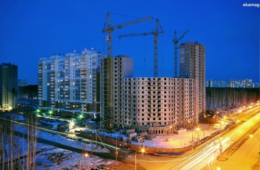 Строительство на Мехренцева