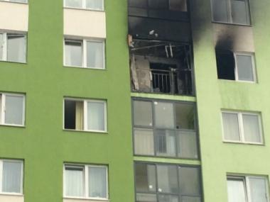 Пожар произошёл из-за окурка