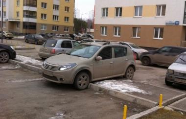Я паркуюсь как олень. Ноябрь 2014