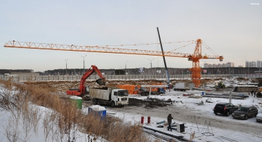Ход строительства ТРЦ