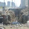 Из-за строительства коммунальных сетей в Академическом перекрыли три улицы