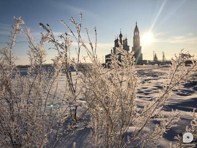 Зимняя сказка в Преображенском парке