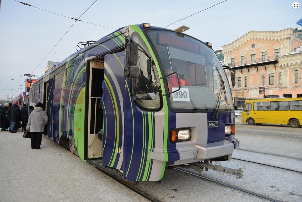 проект трамвайной линии в Академическом вынесли на публичные слушания