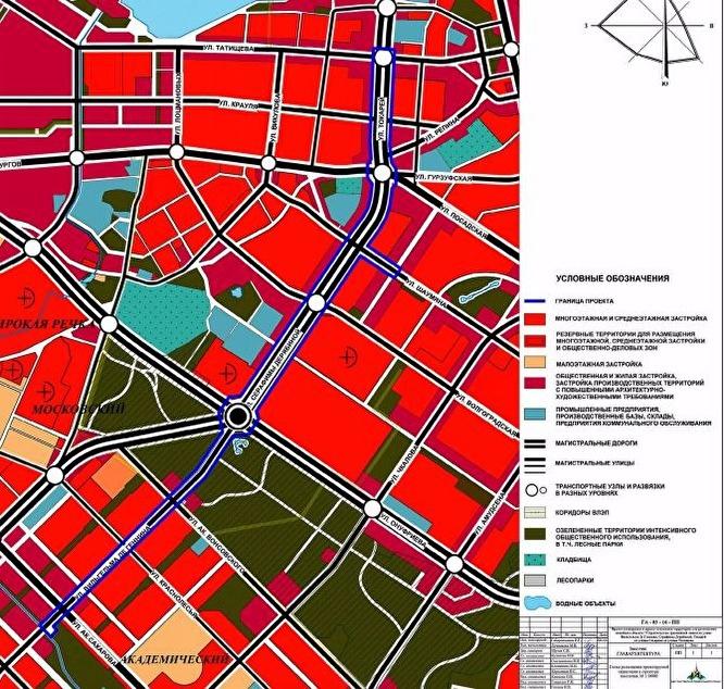 Поедет до Татищева: минстрой опубликовал проект трамвайной ветки в Академический