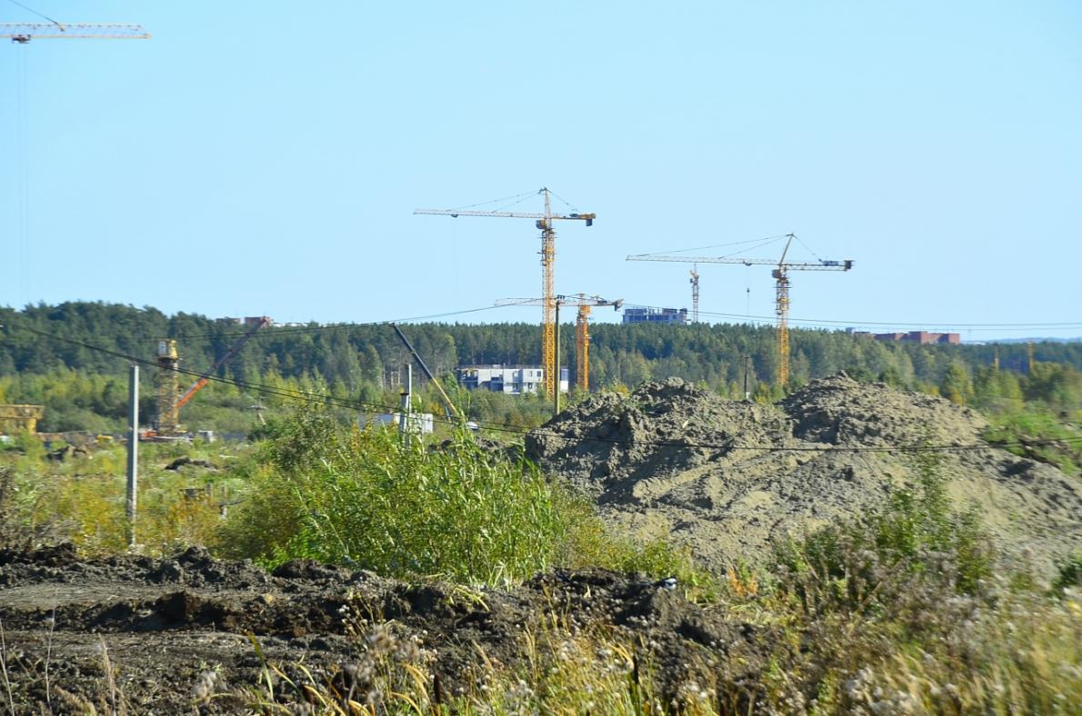 Строительство новых кварталов и Преображенского парка