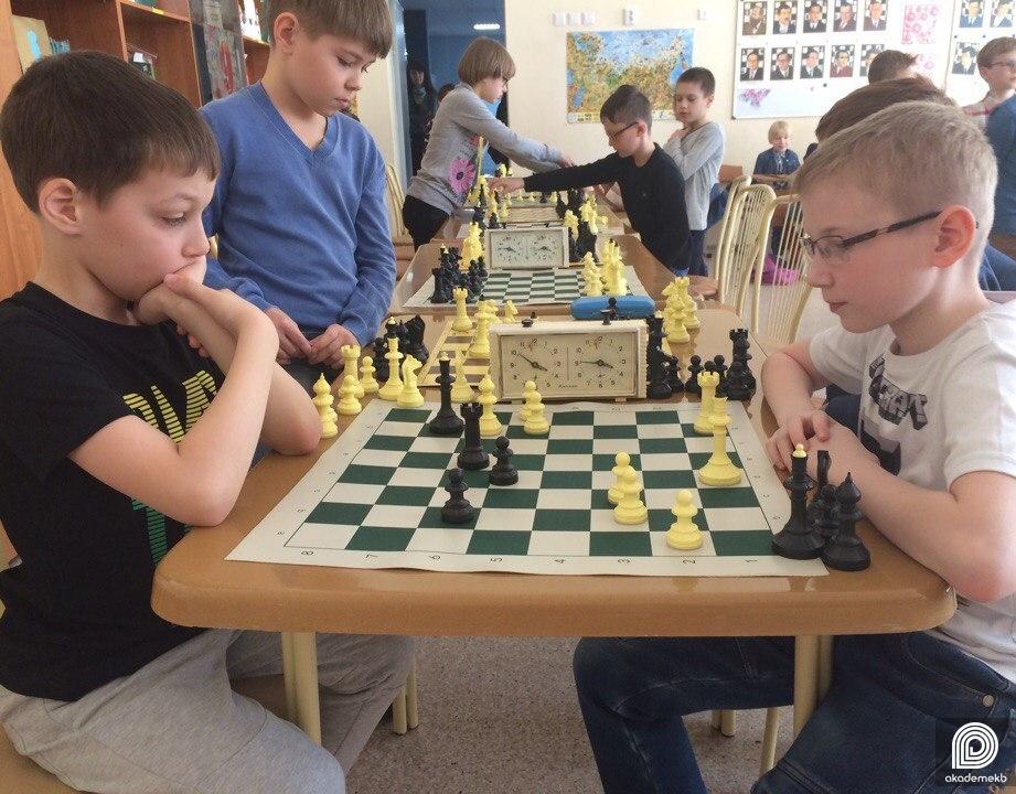 Турнир по шахматам на личное первенство среди школьников