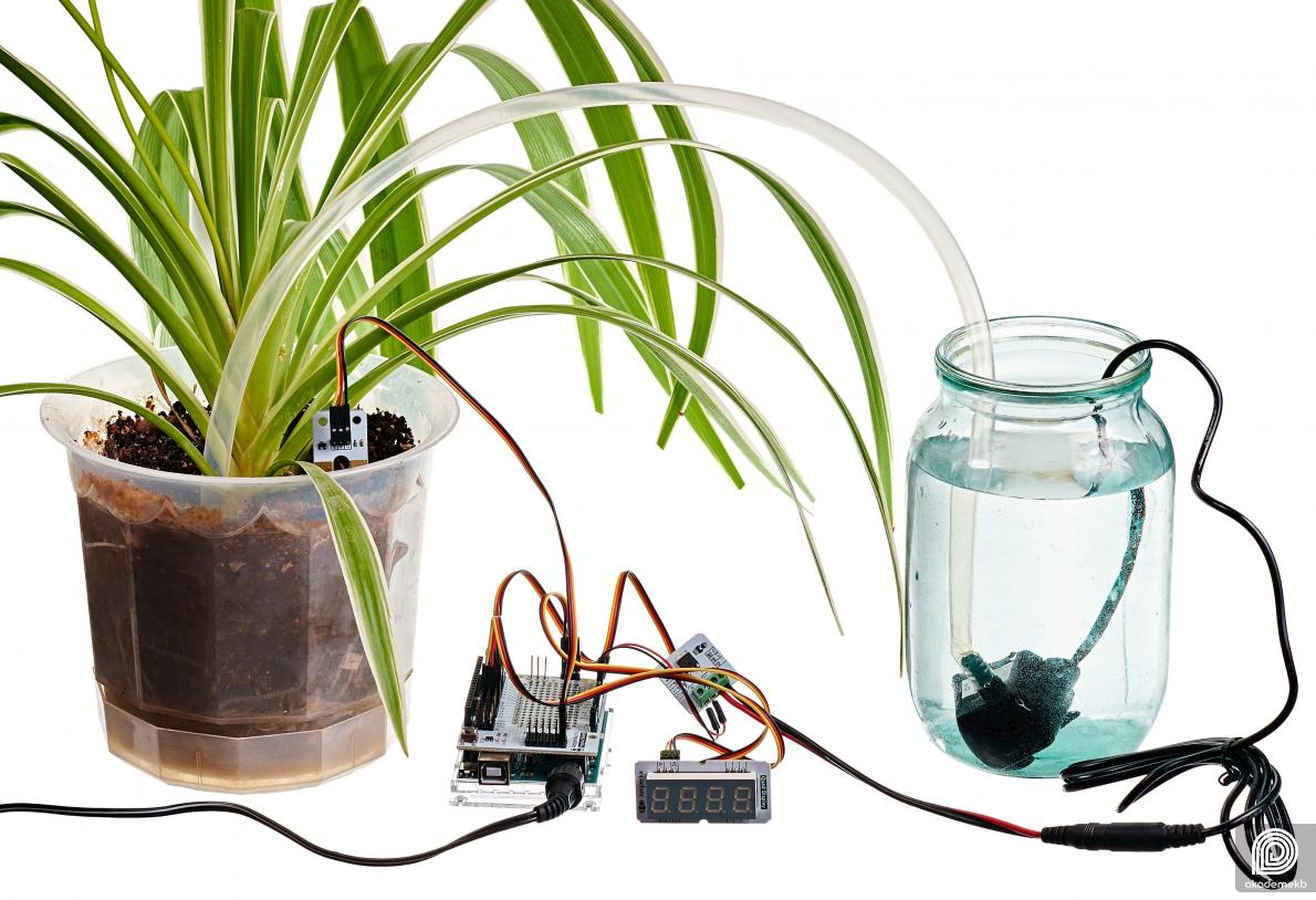 автополив на arduino