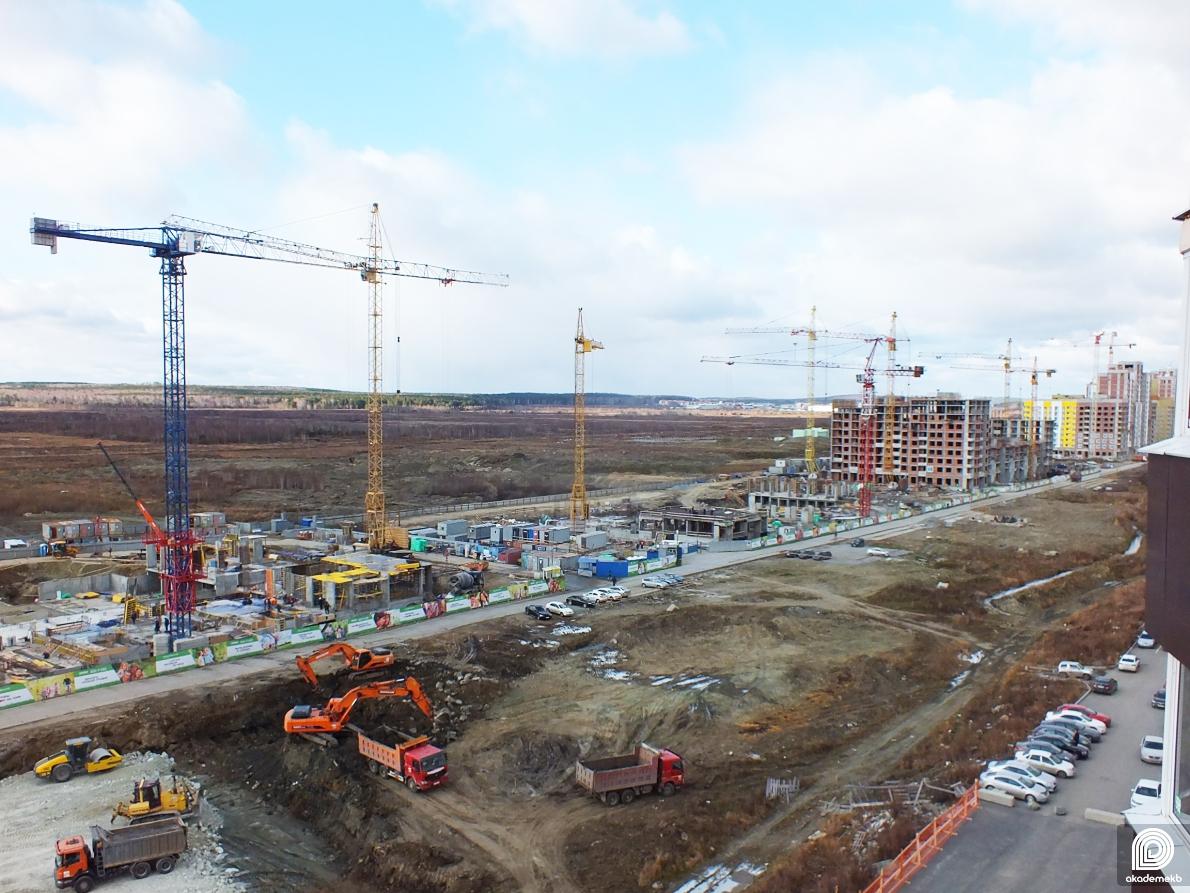 Началось строительство проспекта Академика Сахарова от Чкалова до Амундсена