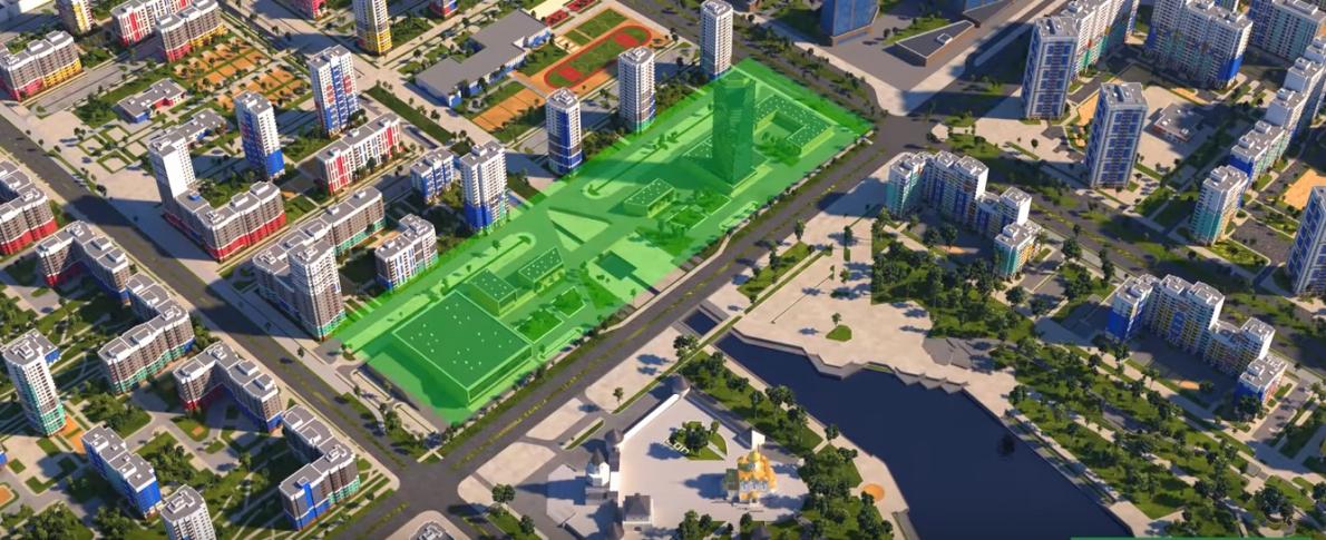 Четыре высотки, посередине — крест: как будет выглядеть новое здание медицинского университета