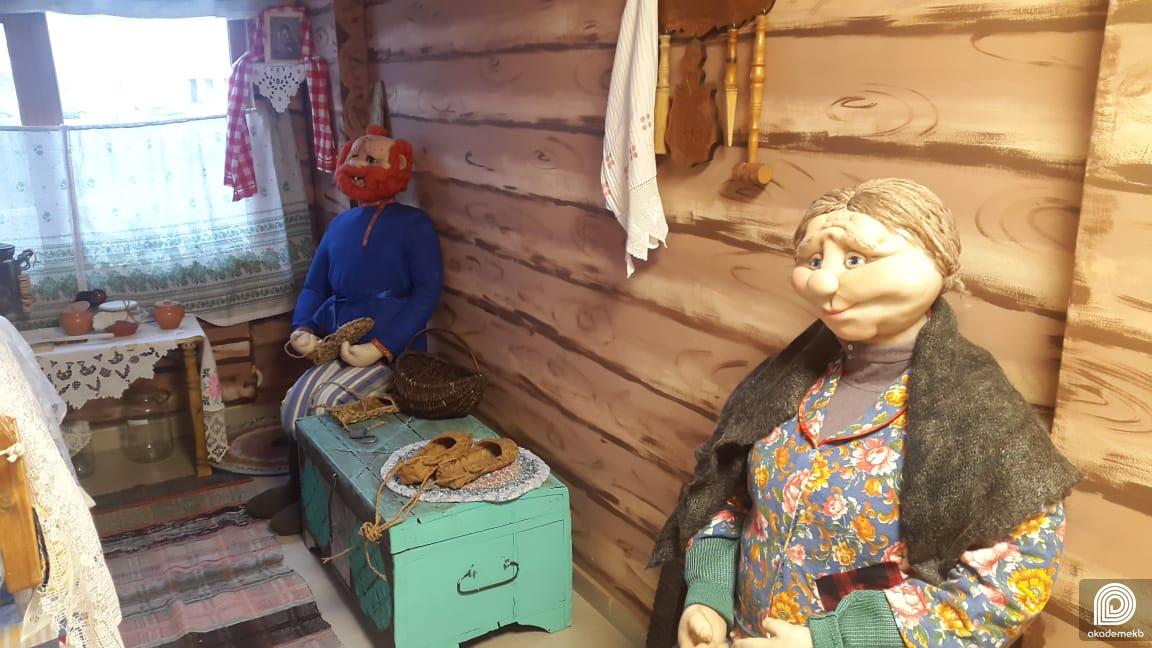 Машина времени: старинная русская изба появилась в детском саду №119